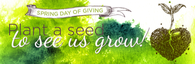 plant a seed to see us grow - spring day of giving fundraising for the charlottesville waldorf school