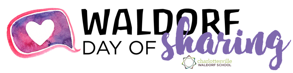 Charlottesville Waldorf School Day of Sharing May 2020